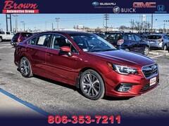 New 2018 Subaru Legacy 2.5i Limited with EyeSight, High Beam Assist, Navigation, Reverse Auto Braking, LED Headlights, Steering Responsive Headlights, and Starlink Sedan S6730 for Sale in Amarillo, TX, at Brown Subaru