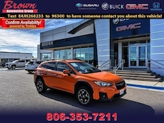 Used 2018 Subaru Crosstrek 2.0i Premium CVT Sport Utility for Sale in Amarillo, TX, at Brown Subaru