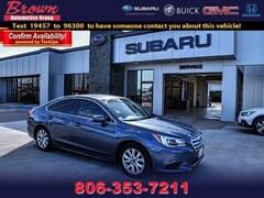 Used 2017 Subaru Legacy 2.5i Sedan for Sale in Amarillo, TX, at Brown Subaru