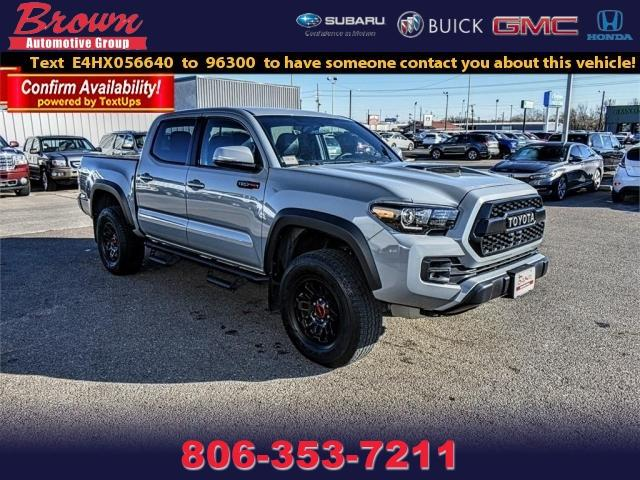 2017 Toyota Tacoma TRD Pro Double Cab 5 Bed V6 4x4 AT Crew Cab Pickup