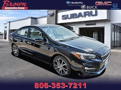 New 2018 Subaru Impreza 2.0i Limited with EyeSight, Moonroof, Blind Spot Detection & Starlink Sedan S6905 for Sale in Amarillo, TX, at Brown Subaru