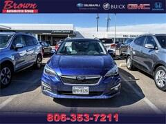 Used 2017 Subaru Impreza 2.0i Limited 5-Door CVT Car for Sale in Amarillo, TX, at Brown Subaru