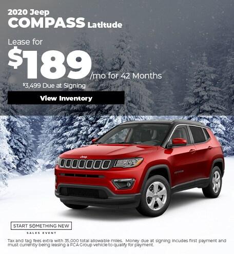 January Jeep Compass