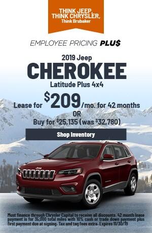 November | 2019 | Jeep Cherokee | Lease