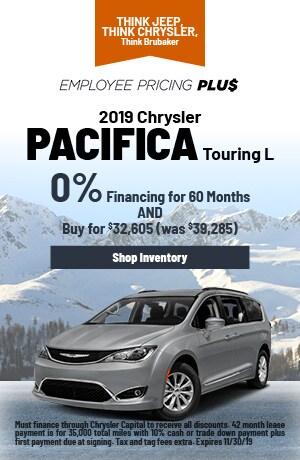 November | 2019 | Chrysler Pacifica | Finance