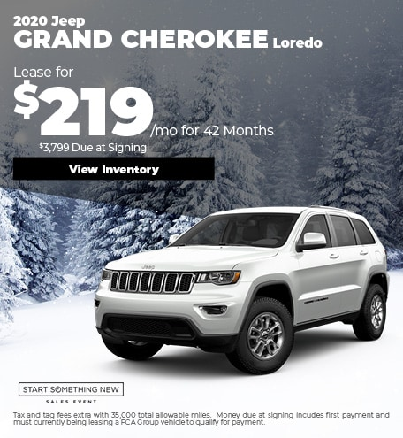 January Jeep Grand Cherokee Loredo
