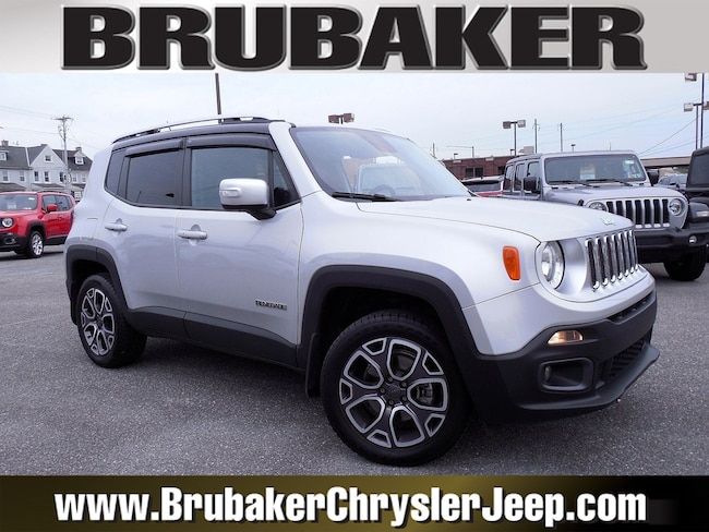 2015 Jeep Renegade Limited 4WD  Limited