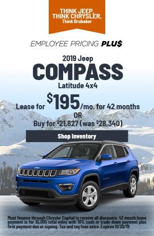 November | 2019 | Jeep Compass | Lease