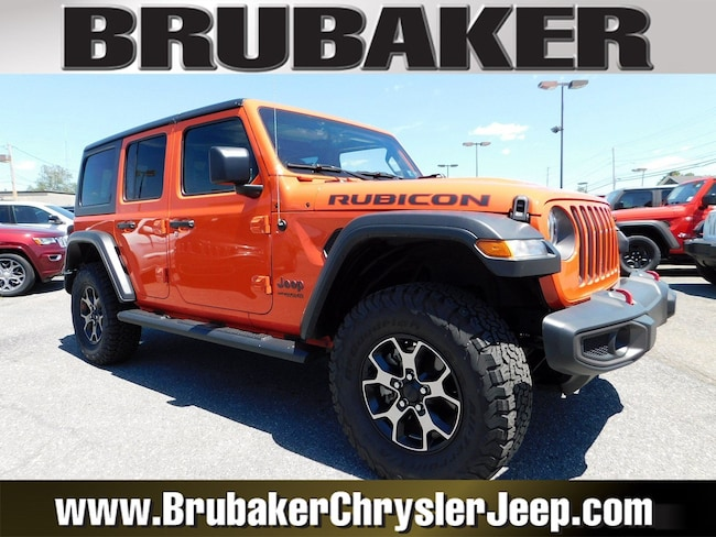 2018 Jeep Wrangler Unlimited Rubicon Rubicon 4x4