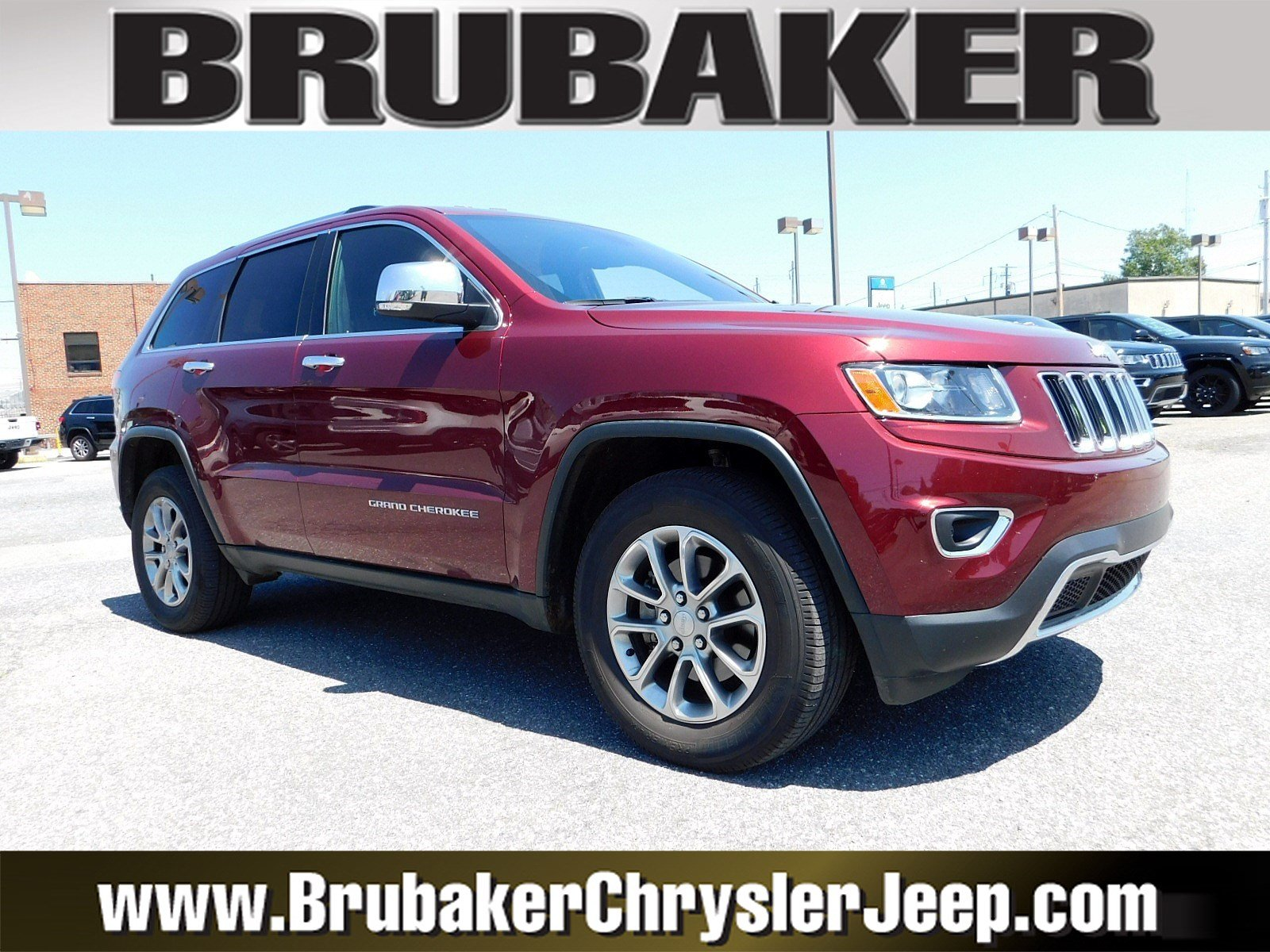 2016 Jeep Grand Cherokee Limited 4WD  Limited