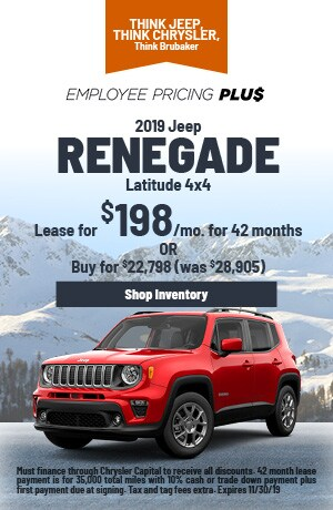 November | 2019 | Jeep Renegade | Lease