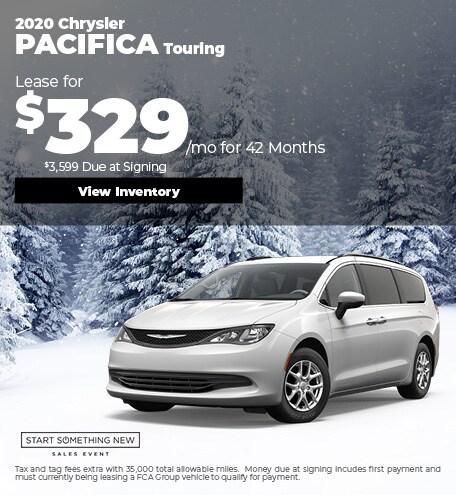 January Chrysler Pacifica