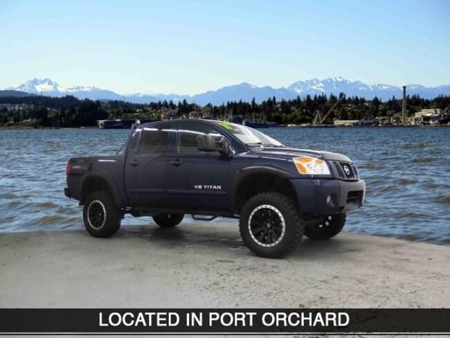 Used 2011 Nissan Titan S Truck Crew Cab Port Orchard