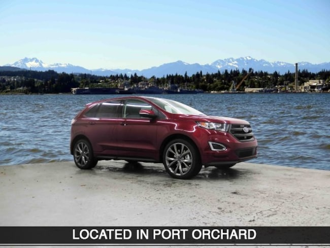 New 2018 Ford Edge Sport SUV Port Orchard