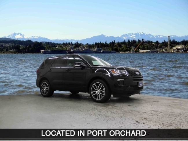 New 2019 Ford Explorer Sport SUV Port Orchard