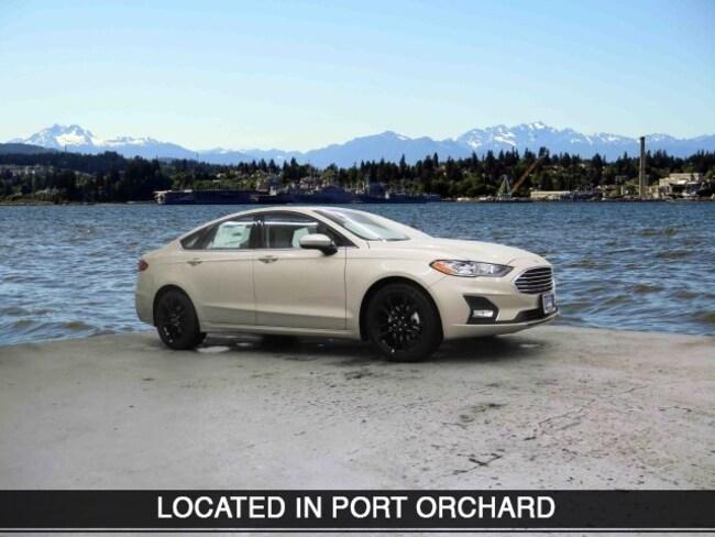 New 2019 Ford Fusion SE Sedan Port Orchard
