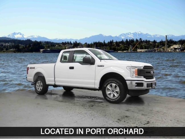 New 2018 Ford F-150 Truck SuperCab Styleside Port Orchard