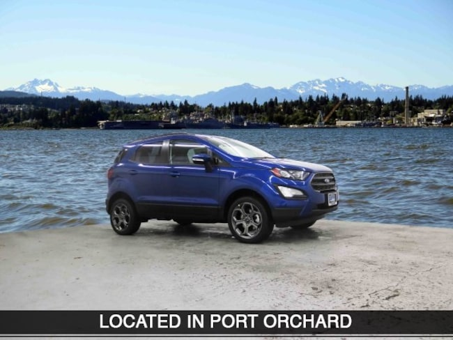 New 2018 Ford EcoSport SES SUV Port Orchard