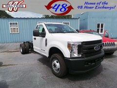2019 Ford F-350 XL 4X4 Regular Cab 169 in WB Chassis