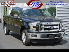 2015 Ford F-150 4x4 SuperCrew XLT Crew Cab Pickup