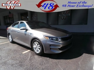 used 2018 Kia Optima LX Sedan 5XXGT4L35JG249607 FK067 for sale in Pikeville