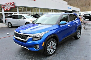 New Kia 2021 Kia Seltos SX SUV KNDETCA27M7055797 KT1655 for sale in Pikeville KY