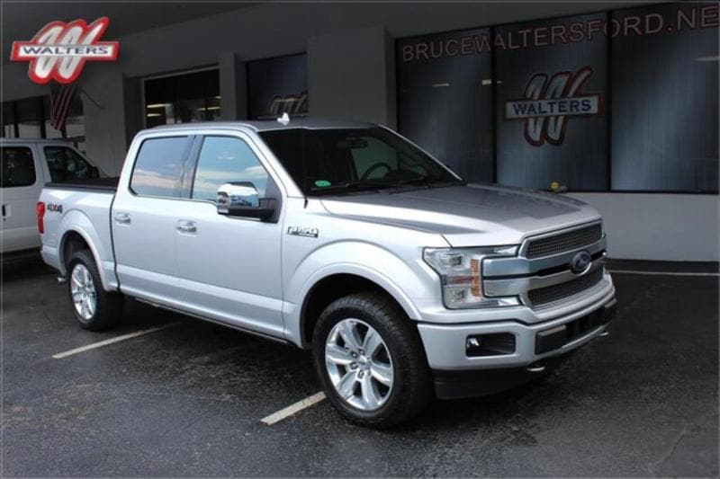 2018 Ford F-150 Platinum 4WD Supercrew 5.5 ft.Box 145 in. WB Truck