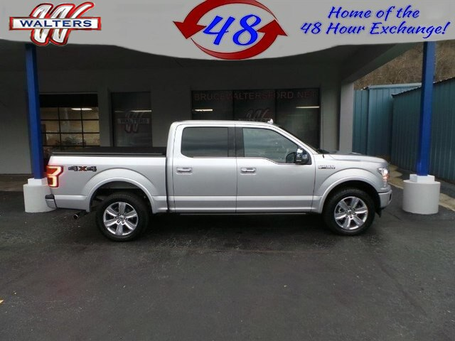2018 Ford F-150 Platinum 4WD Supercrew 5.5 Box145 WB Truck