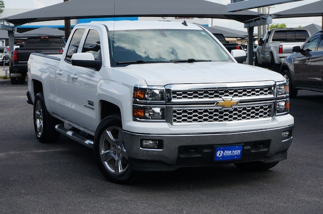 used 2014 Chevrolet Silverado 1500 LT 4WD Double Cab 143.5 LT w/1LT in Stephenville TX