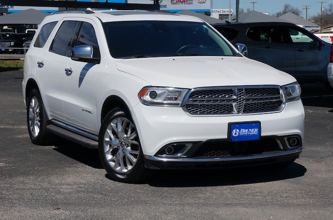 used 2015 Dodge Durango Citadel 2WD  Citadel in Stephenville TX