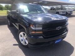 Used 2018 Chevrolet Silverado 1500 Custom 2WD Crew Cab 143.5 Custom 3GCPCPEC0JG222116 For Sale in Stephenville, TX