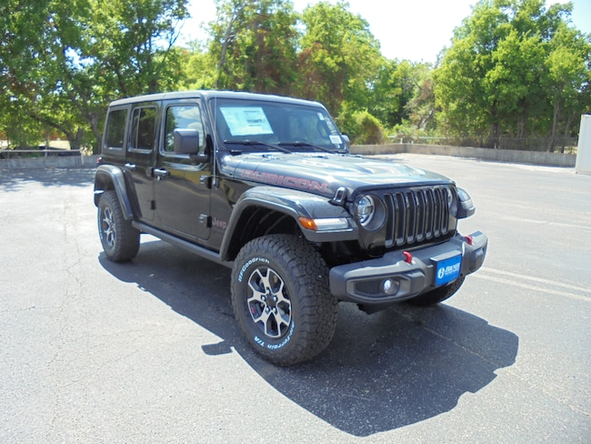 new 2018 Jeep Wrangler UNLIMITED RUBICON 4X4 Sport Utility in Stephenville TX