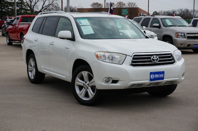 Used 2008 Toyota Highlander Limited SUV in Early, TX