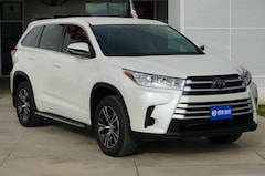 New 2018 Toyota Highlander LE V6 SUV in Early, TX