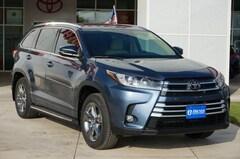 New 2018 Toyota Highlander Limited Platinum V6 SUV in Early, TX