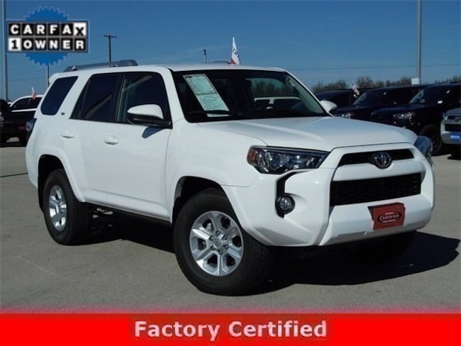 Used 2017 Toyota 4Runner SR5 SUV in Early, TX