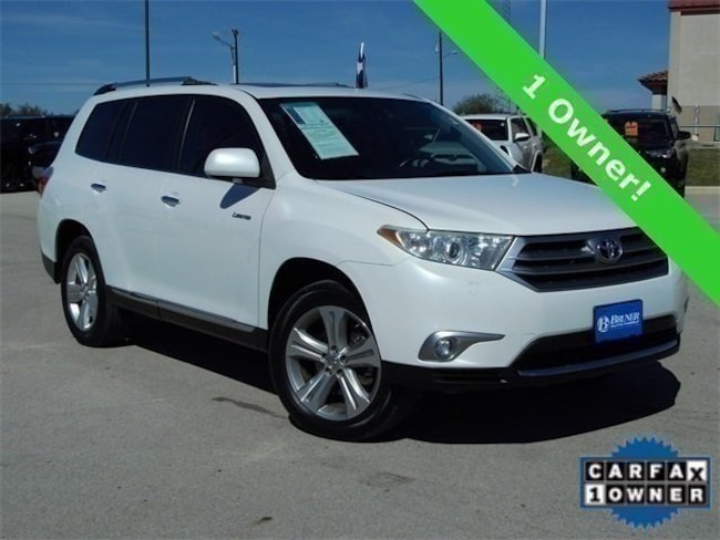 Used 2013 Toyota Highlander Limited V6 SUV in Early, TX