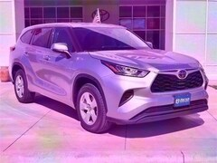New 2020 Toyota Highlander L SUV in Early, TX