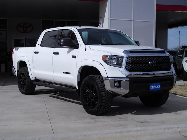 New 2019 Toyota Tundra SR5 5.7L V8 w/FFV Special Edition Truck CrewMax in Early, TX