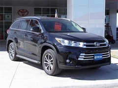 New 2019 Toyota Highlander XLE V6 SUV in Early, TX