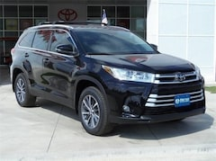 New 2019 Toyota Highlander XLE V6 SUV in Early, TX