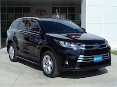 New 2019 Toyota Highlander Hybrid Limited V6 SUV in Early, TX