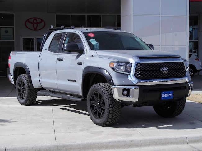 New 2018 Toyota Tundra SR5 5.7L V8 w/FFV Special Edition Truck Double Cab in Early, TX