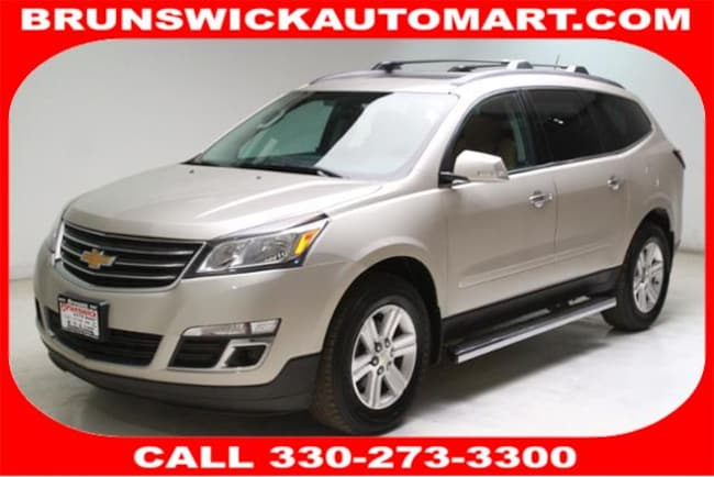 2013 Chevrolet Traverse FWD 4dr LT w/2LT SUV for sale in Medina, OH at Brunswick Mazda