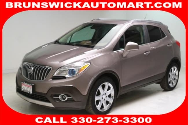 2013 Buick Encore FWD 4dr Premium SUV for sale in Medina, OH at Brunswick Mazda
