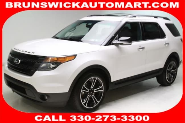 Used 2014 Ford Explorer 4WD 4dr Sport SUV for sale in the Brunswick, OH