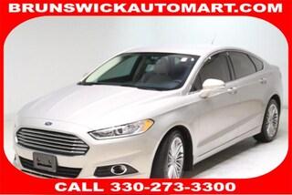 Used 2015 Ford Fusion 4dr Sdn SE FWD Sedan 3FA6P0HD0FR255548 SB190481A in Brunswick, OH