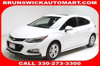 Used 2017 Chevrolet Cruze 4dr HB 1.4L LT w/1SD Hatchback 3G1BE6SM1HS571586 J191145A in Brunswick, OH