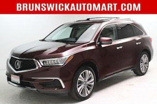 Used 2017 Acura MDX SH-AWD w/Technology/Entertainment P SUV 5FRYD4H72HB032492 T201486A in Brunswick, OH