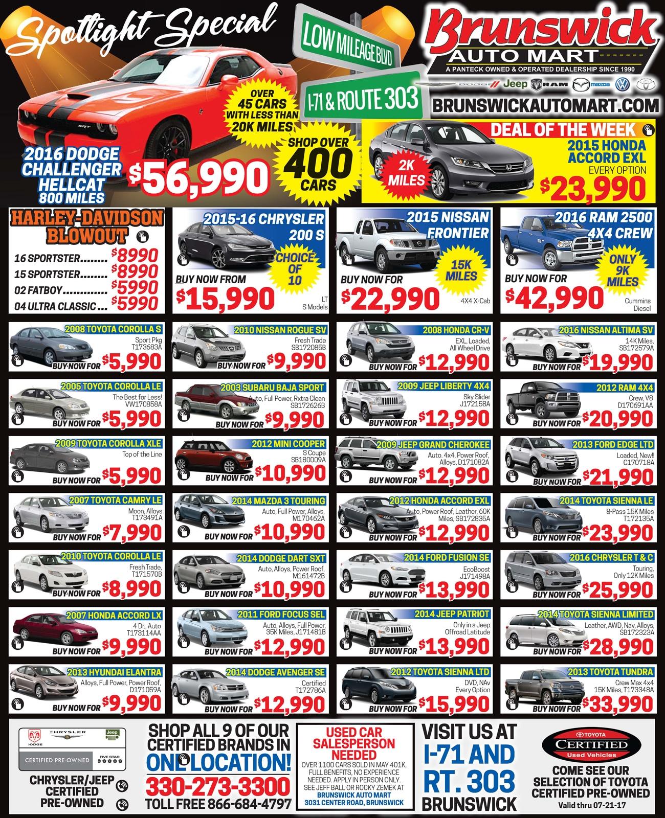 New Toyota Dealership In Brunswick, OH